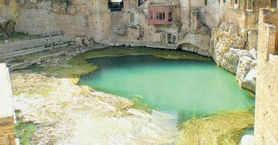 Pond at the Katas Raj Temple in Chakwal district of Punjab. PHOTO COURTESY: http://blog.travel-culture.com/