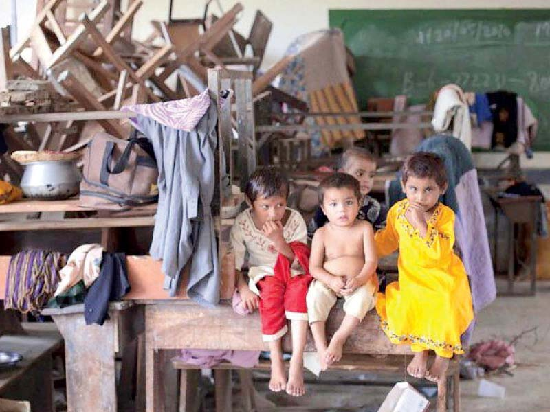 a missed opportunity half of sindh s enrolled students drop out before reaching class 5