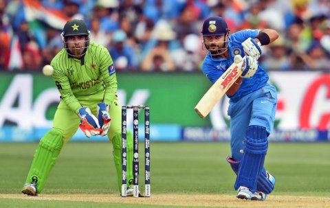 A file photo of the match between Pakistan and India during the 2015 World Cup. PHOTO: AFP