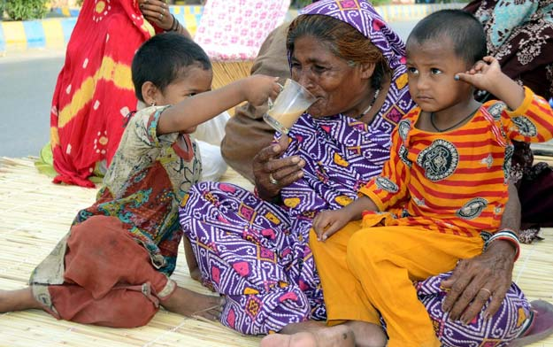 A report published by Save the Children puts Pakistan at 149 among 179 countries for child and mother mortality, sliding down two places from its 147 rank last year.  PHOTO: INP
