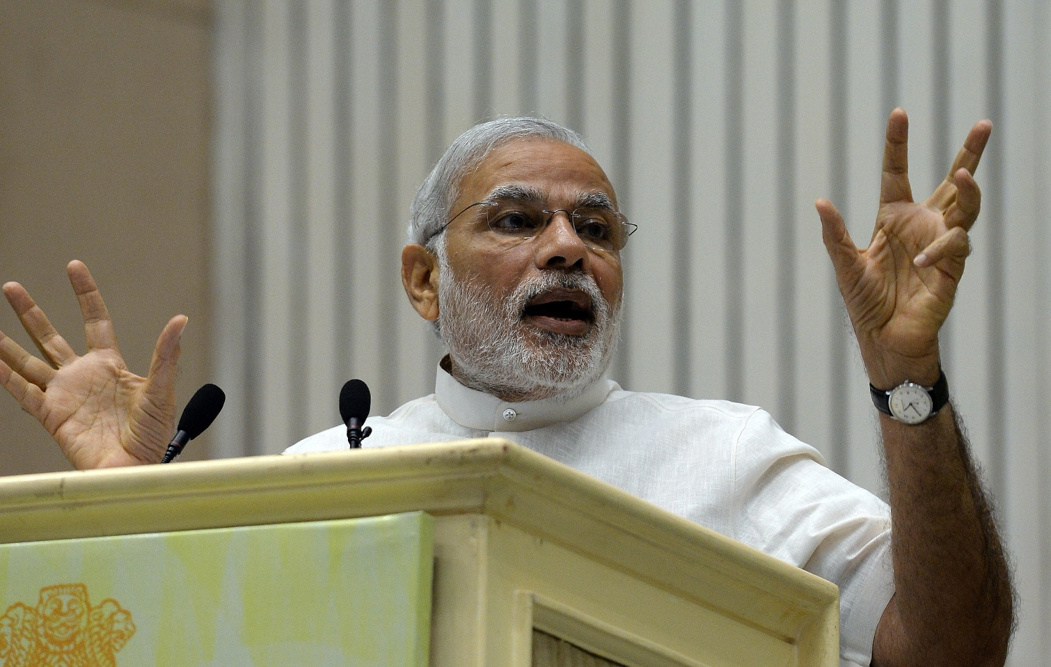 Indian prime minister says attack was deeply saddening [and] utterly condemnable. PHOTO: AFP