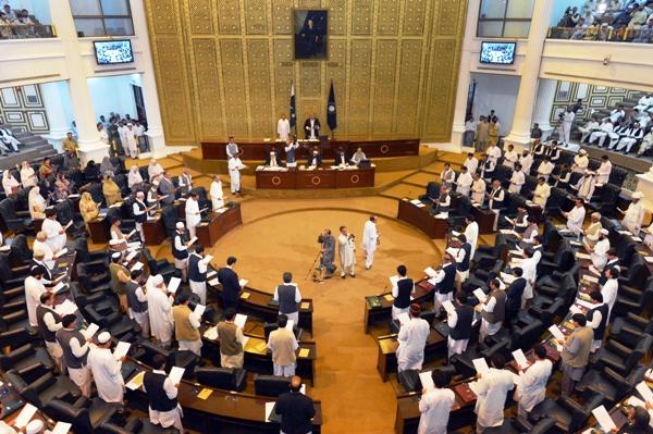 an empty floor fruitless k p assembly session adjourned