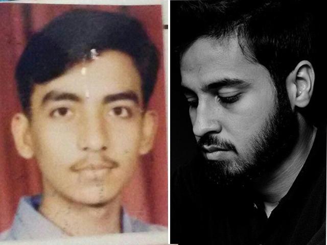ssuet graduate muhammad azhar ishrat left and iba graduate saad aziz right