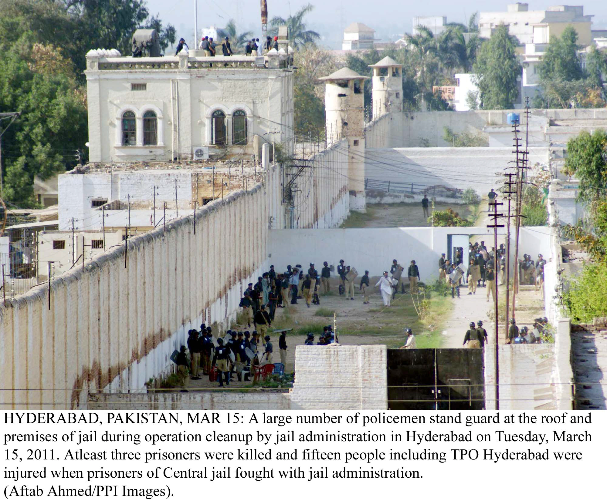 a topshot of the hyderabad central jail photo ppi