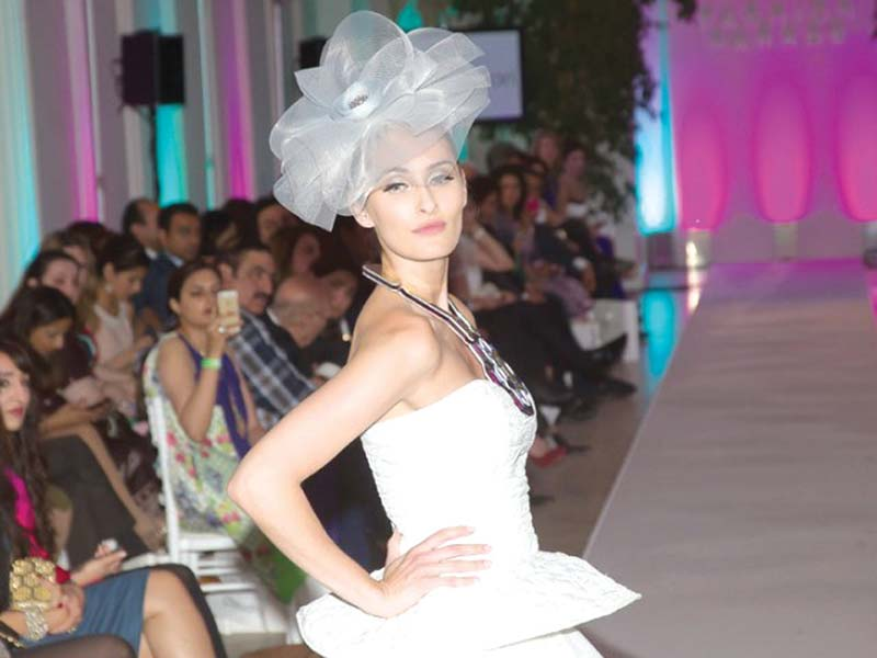 Nomi Ansari closed the event last year with his metallic collection. PHOTO: PUBLICITY