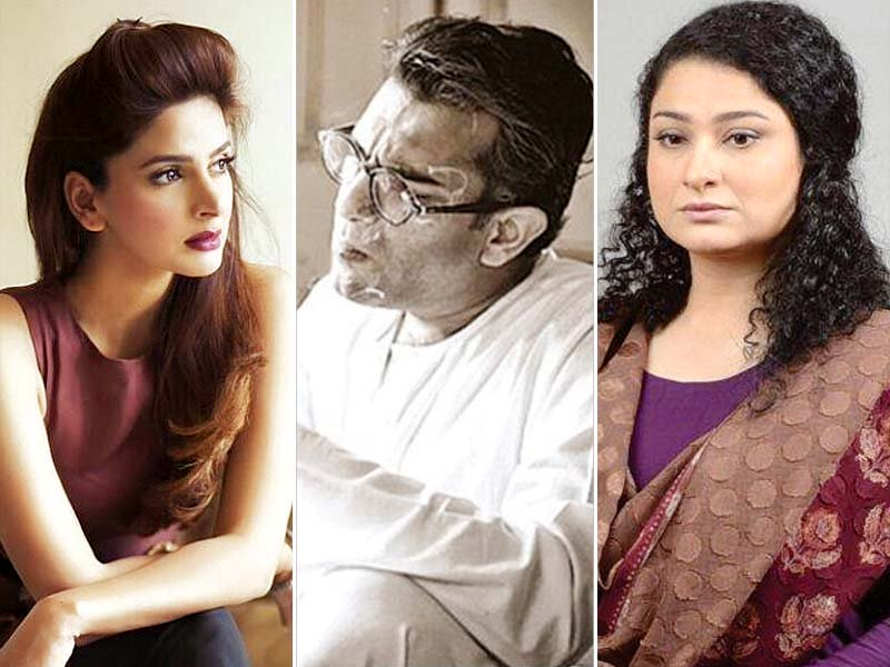 sarmad khoosat will play manto sania saeed his wife while saba qamar will be seen as noor jehan photos publicity