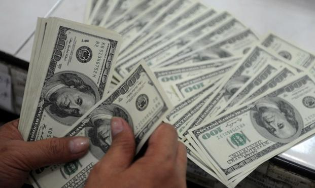 in april foreign exchange reserves held by the sbp increased 5 1 because of the receipt of hbl s privatisation proceeds photo afp