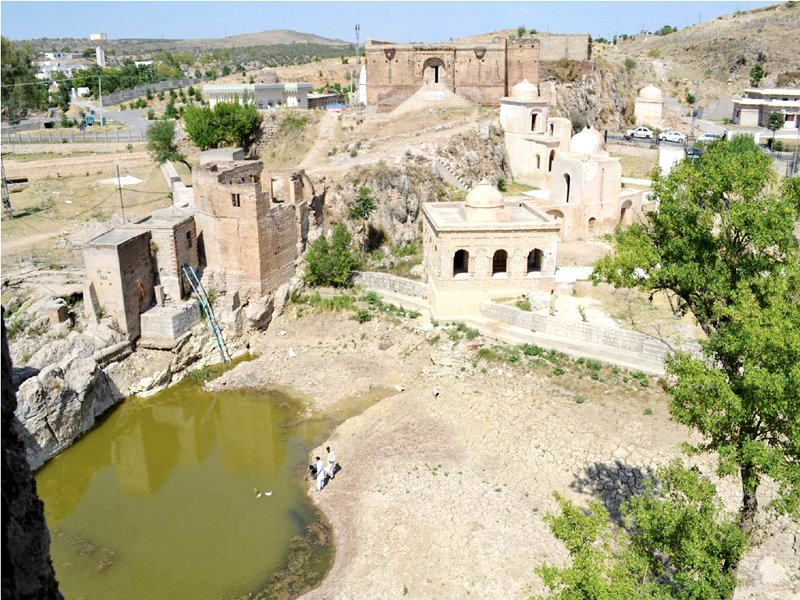 water meters proposed for katas raj temples
