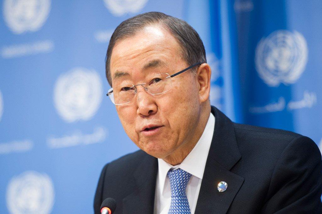 un secretary general ban ki moon photo un