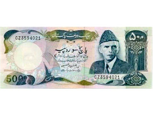 banknotes of Rs10, 50, 100 and 1,000. The Rs5 banknote and the old design Rs500 banknote have already been demonetised. PHOTO: FILE