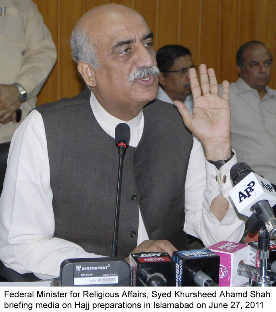 opposition leader khursheed shah photo pid