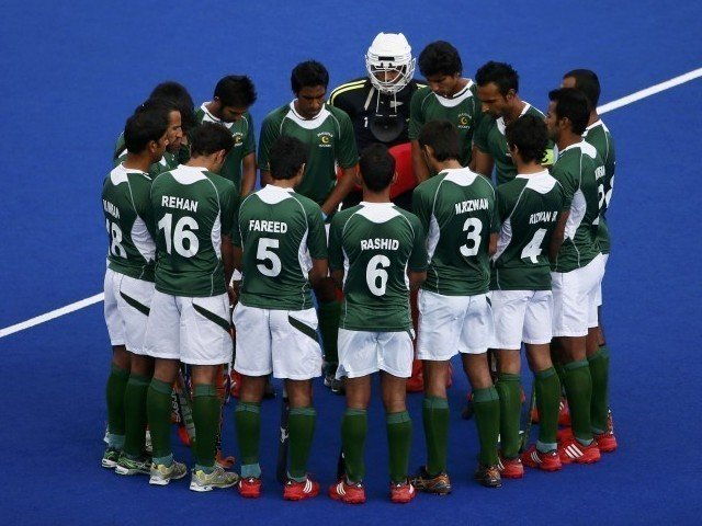 pakistan are third in the pool with three points from the 2 1 win against poland photo reuters