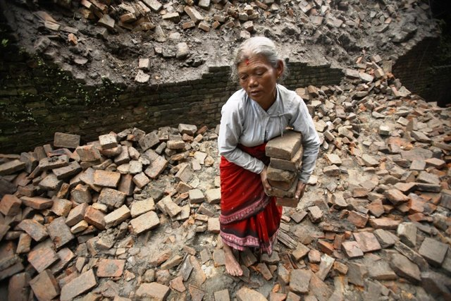nepal witnessed a disastrous earthquake of 7 8 on the richter scale on april 25 2015 killed 8 800 people and affected millions photo reuters