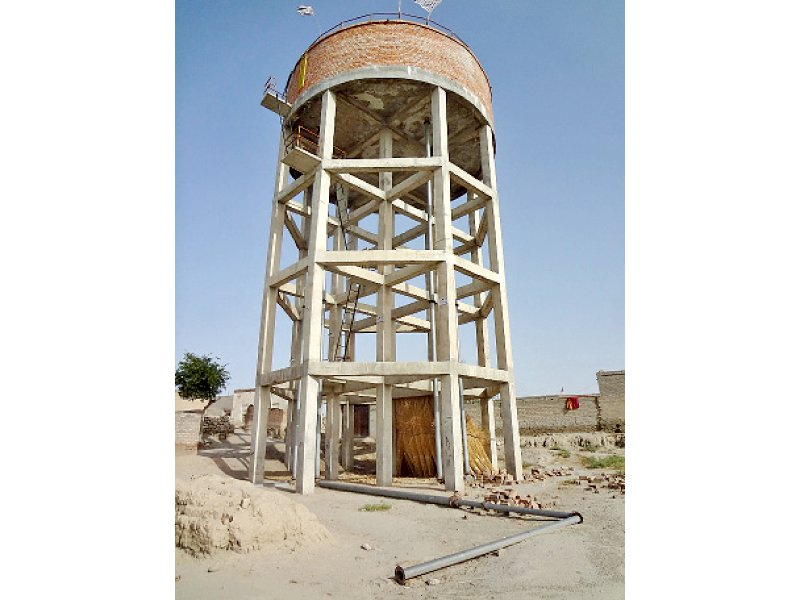 water tank in shah hassan photo express