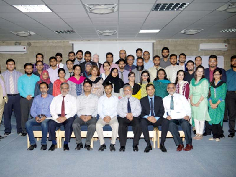 the quality enhancement cell of iqra university organised a seminar on quality management iso 9001 standards with the collaboration of sgs the vice chancellor dr uag isani welcomed the participants from iba indus kasbit and iqra university and emphasised on the role of quality in education press release