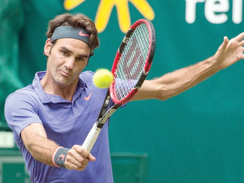 in the botton half second seed federer could face feliciano lopez photo afp
