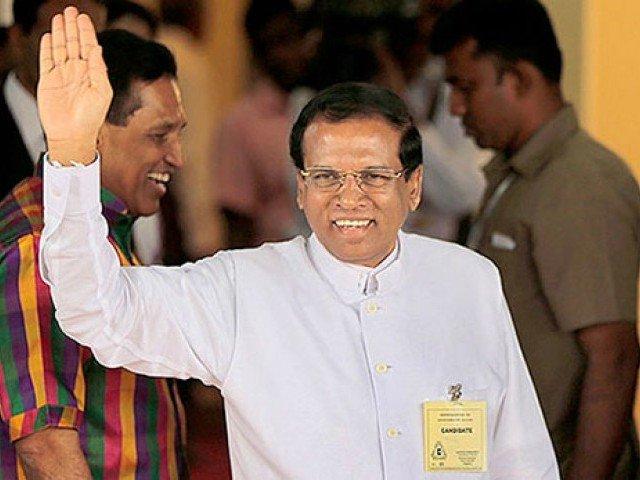 sri lankan president maithripala sirisena photo nri tribune