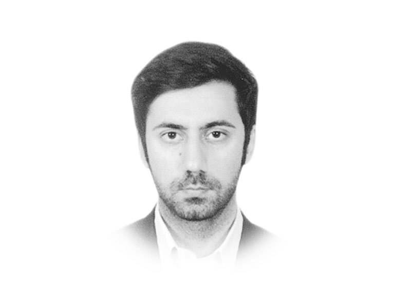 the writer is pursuing a phd in government amp public policy from the university of sydney and serving as a project director of peace and development unit at the planning commission he tweets hnadim87