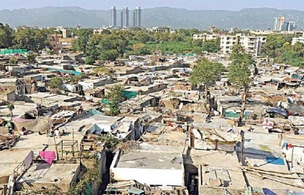 the cda has been criticised for not taking action against the illegal slums in the city photo file