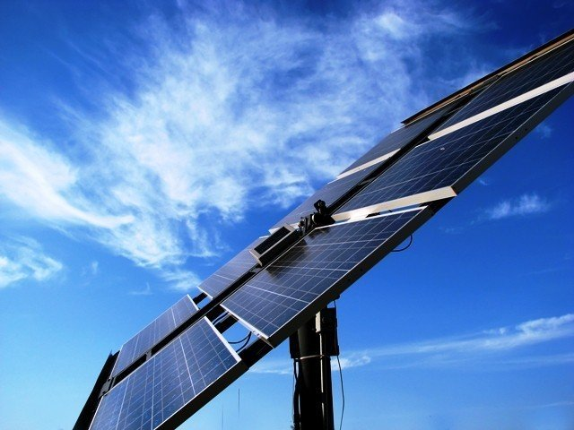 steel company to install solar power project