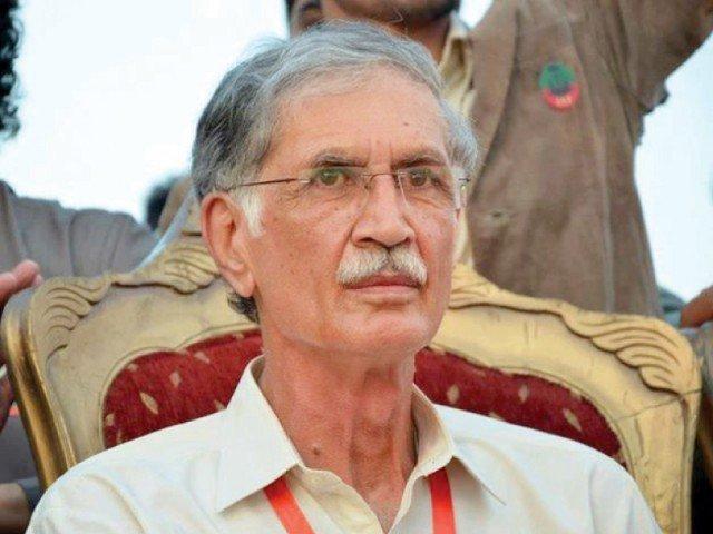 chief minister khyber pakhtunkhwa pervez khattak photo online