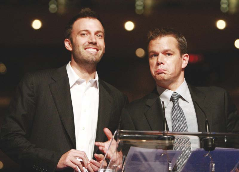 ben affleck and his friend since childhood actor matt damon will be among the producers of the yet untitled movie photo file