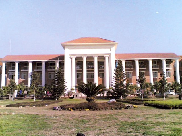 many top administrative posts vacant for years professors given additional portfolios photo file