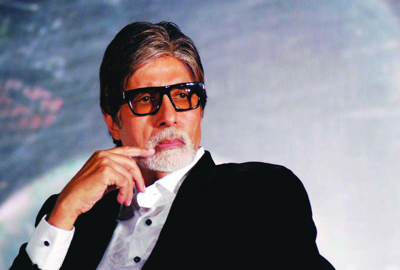 big b believes that fans frenzy makes him come out of his shell photo file