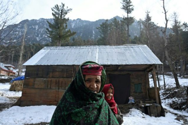 as india steps up its efforts to assert control over kashmir communities living in remote woodlands say they ve been banished from their ancestral homes afp