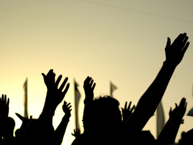 The protesters chanted slogans against the WASA and said immediate steps should be taken to drain the water. PHOTO: FILE