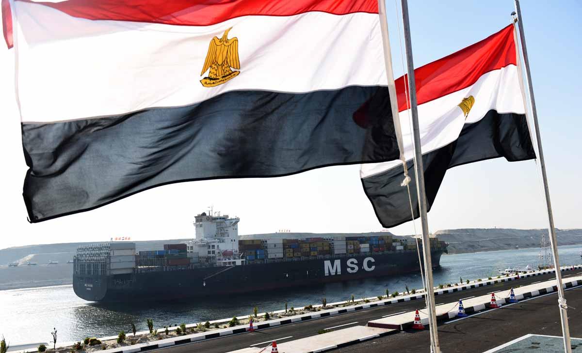 sisi unveils egypt s new suez canal