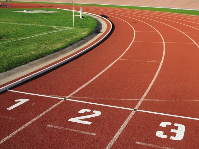 sports facilities synthetic track to be laid at shahbaz sharif park