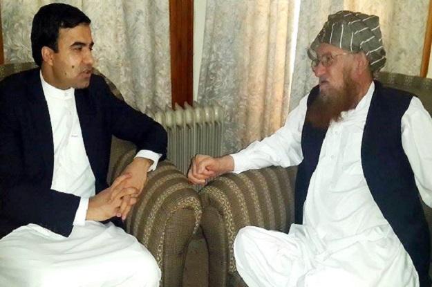 kabul seeks jui s chief s blessings for taliban talks