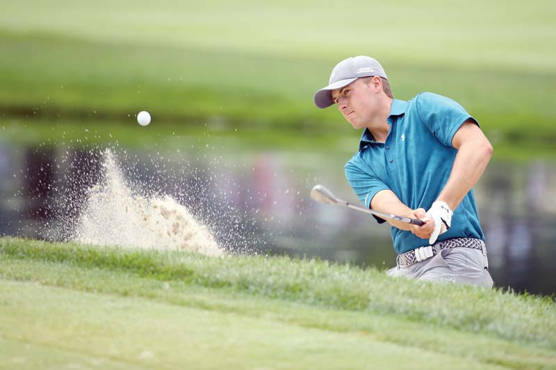 spieth can still join select club at pga championship