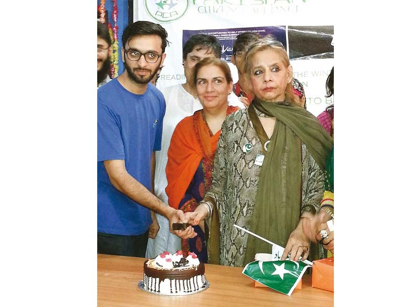 roohi said she missed the presence of her contemporaries and friends firdous jamal and abid ali on her birthday this year photo adnan lodhi express