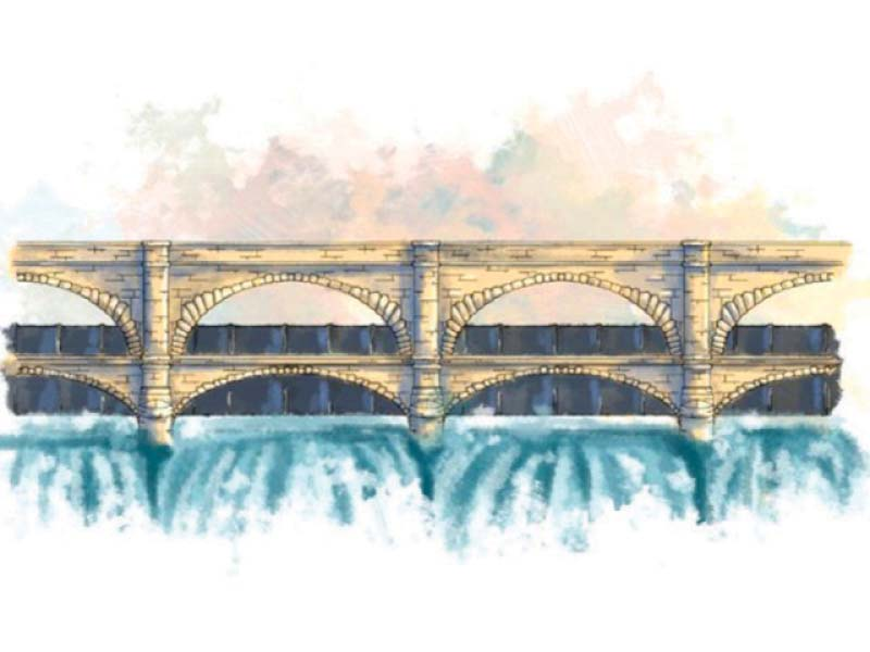 water conservation construction of small dams under way in pindi