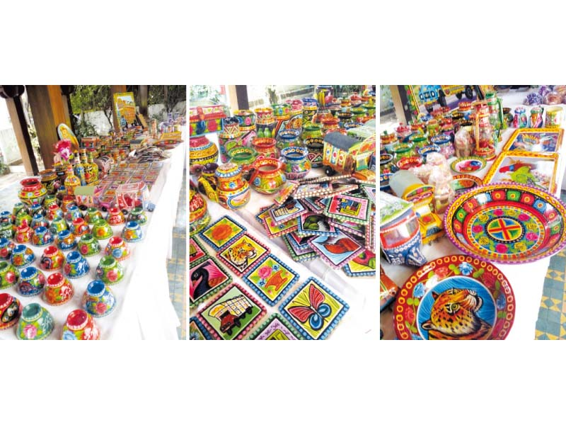 The exhibition features stalls to ensure the artisans get the attention they deserve. PHOTOS: EXPRESS