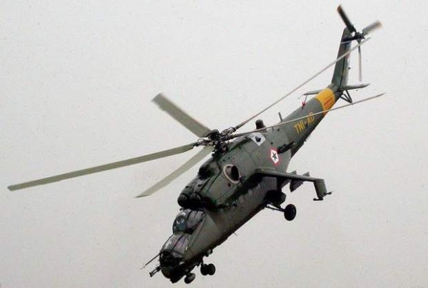 mi 35 attack helicopters photo afp