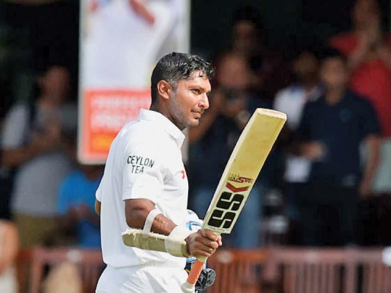 2nd test retiring sanga silva steady islanders in first innings