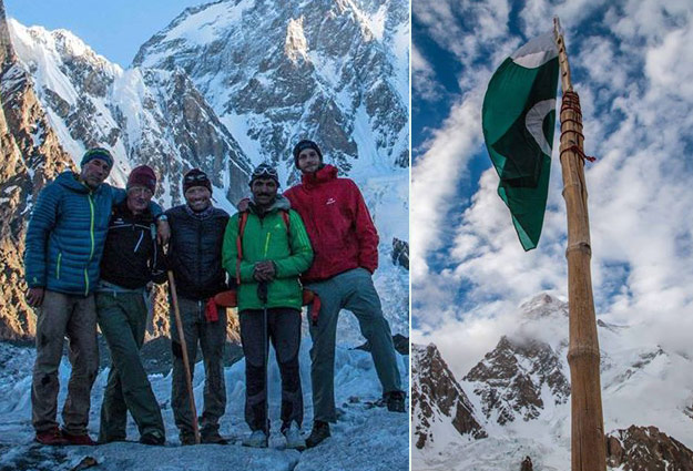 pakistan is peaceful people have opened their arms and hearts to us adventurer mike horn