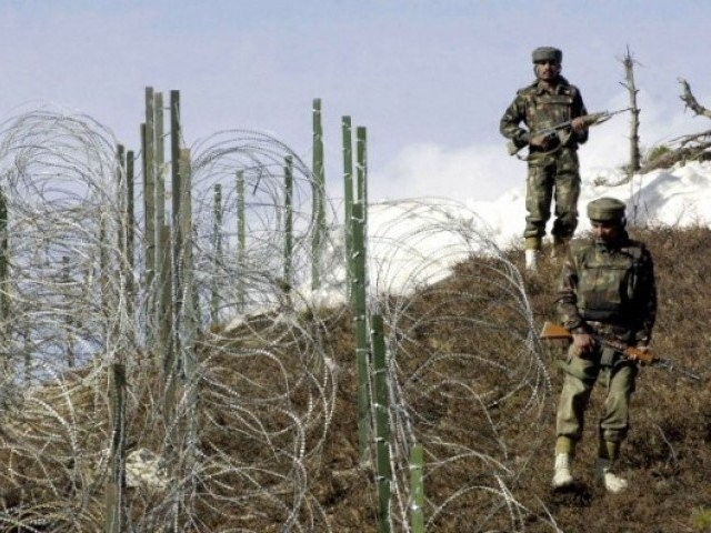 a file photo of indian security forces across the loc photo afp