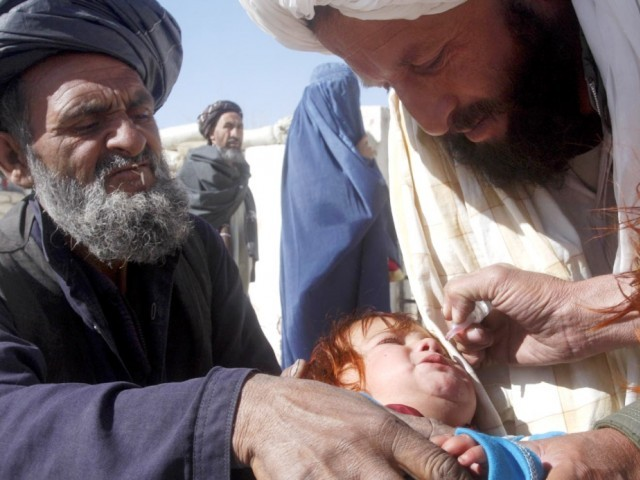 polio measles drives kick off in tribal belt
