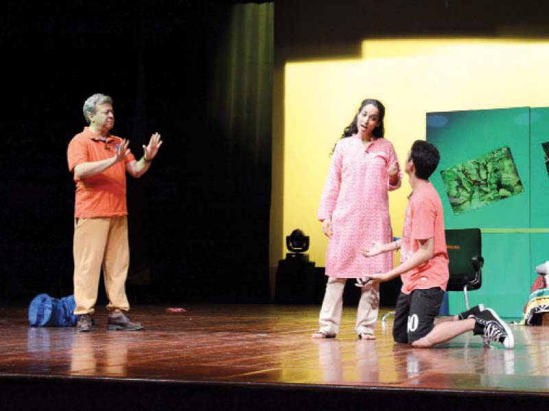 substance abuse play depicts real life tragedy to create awareness