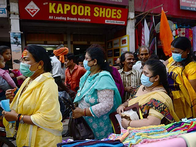 members of the transgender community in india distribute free face masks amid concerns over the spread of covid 19 photo getty