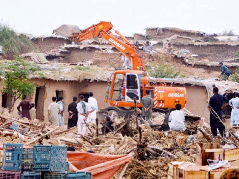 i 11 katchi abadi alternative housing for evictees proposed