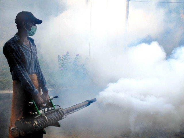 spurious dengue spray after attock 105 students in jhelum school faint