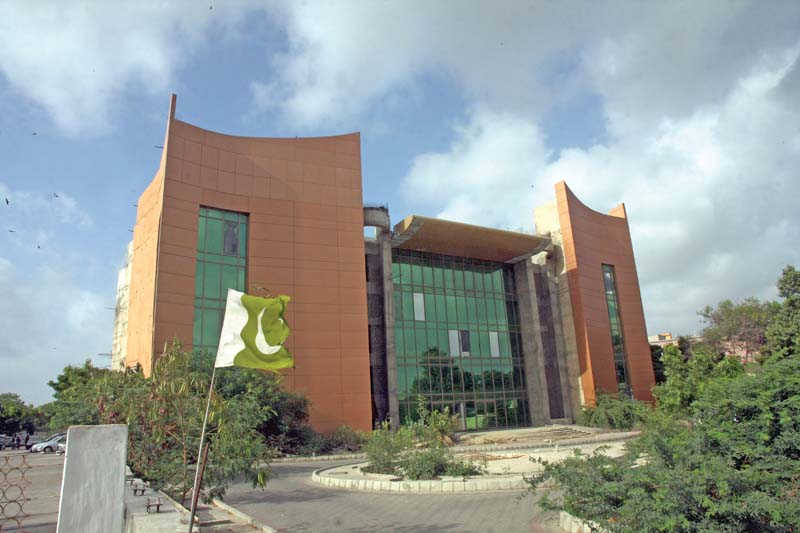 The Aiwan-e-Riffat auditorium has been under-construction for the past 25 years that shows the incompetence of the authorities. The project, launched in 1990, was designed to include a cafeteria, a conference room, an art gallery and an auditorium accommodating 1,800 people. PHOTO: ATHAR KHAN/EXPRESS