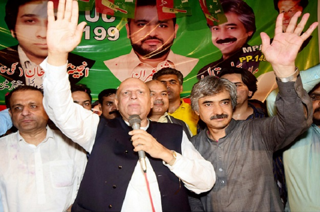 pti leader says govt won t be able to rig polls photo express