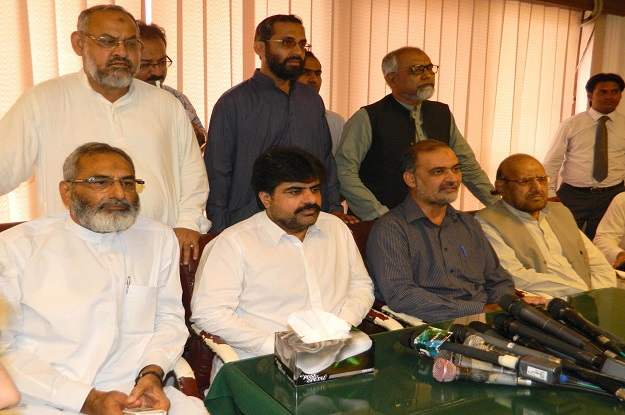 PPP wants to make Karachi a city of lights with the help of other stakeholders, says LG minister. PHOTO: EXPRESS