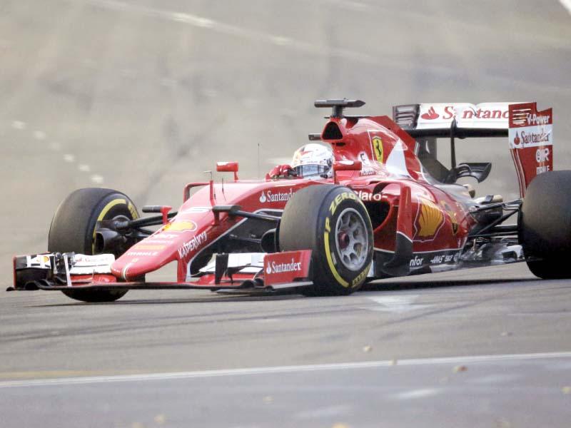 singapore grand prix vettel on pole position hamilton a shocking fifth